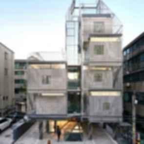 Songpa Micro Housing - Exterior/Entrance