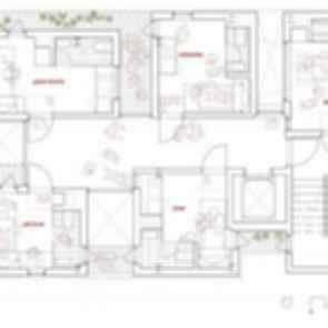 Songpa Micro Housing - Floor Plan