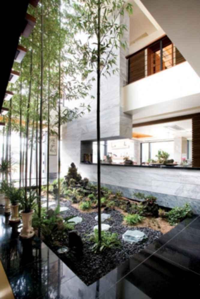 P House - Interior Garden
