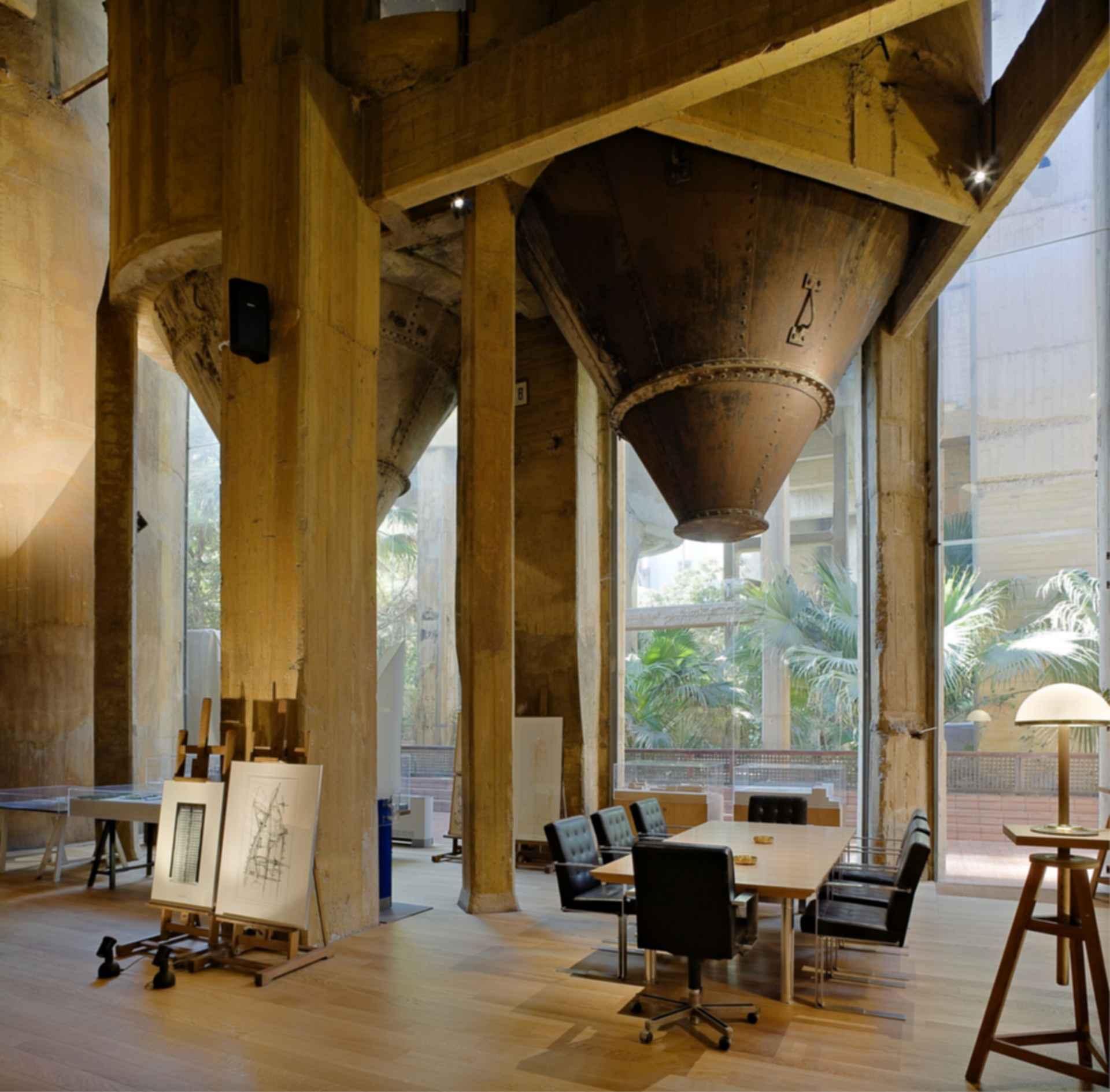 Cement Factory - Interior Beam