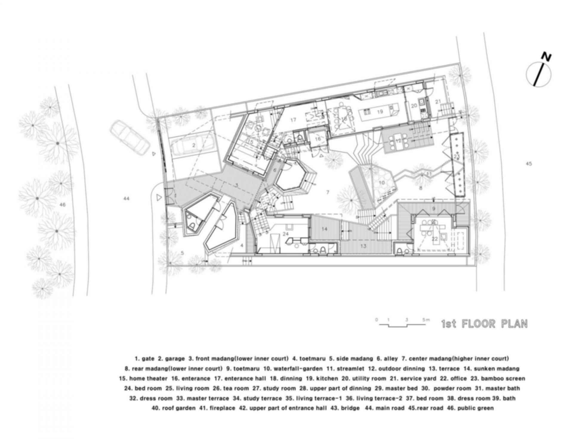 Ga on Jai House - Floor Plan
