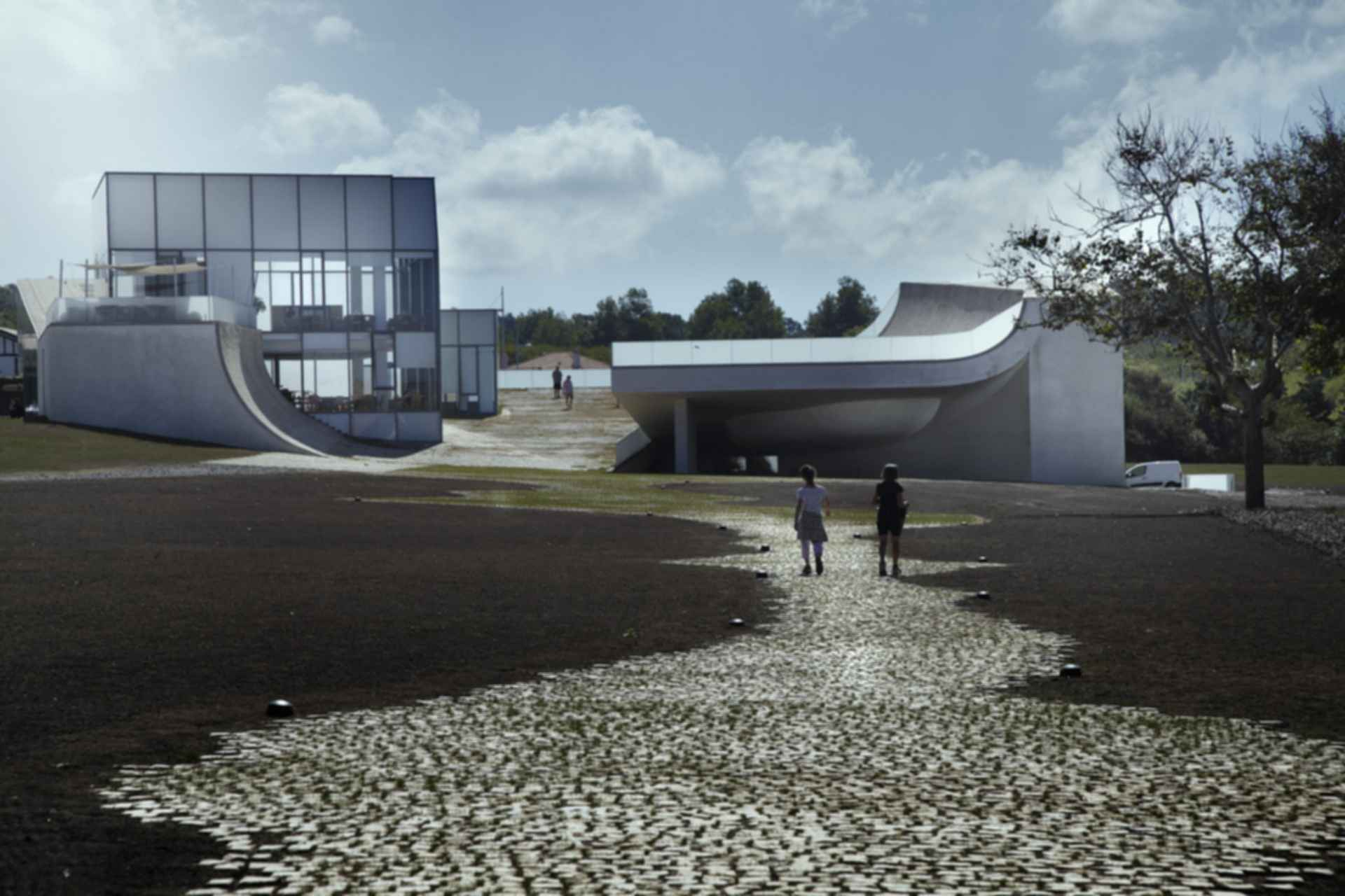 Museum of Ocean and Surf - Exterior/Walkway