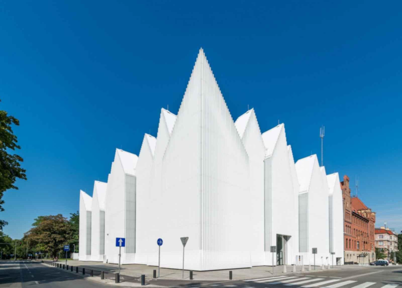 Philharmonic Hall Szczecin - Exterior/Street View