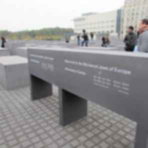 Memorial to the Murdered Jews of Europe - Concrete Blocks/Information