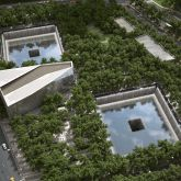 National September 11 Memorial and Museum - Birds Eye View