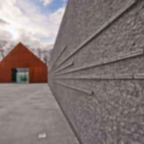 Ulma Family Museum of Poles Saving Jewish People - Exterior/Memorial Wall