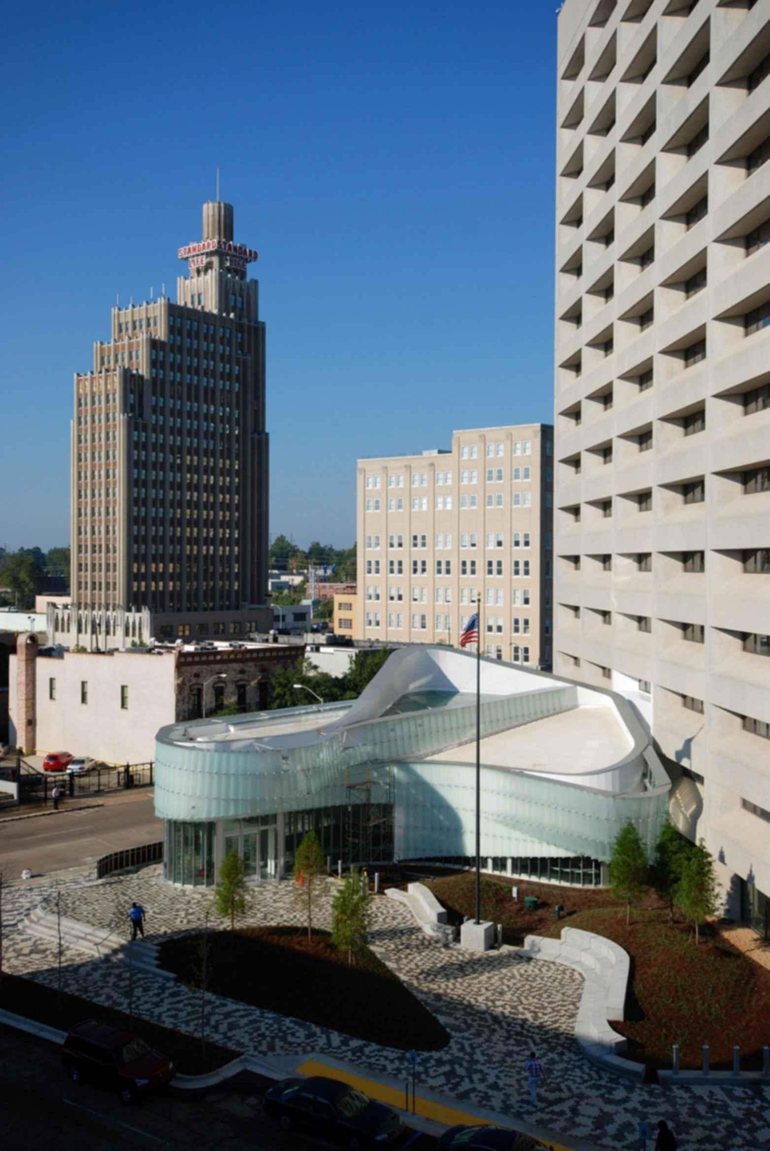 Dr. A.H. McCoy Federal Building - Exterior/Landscape