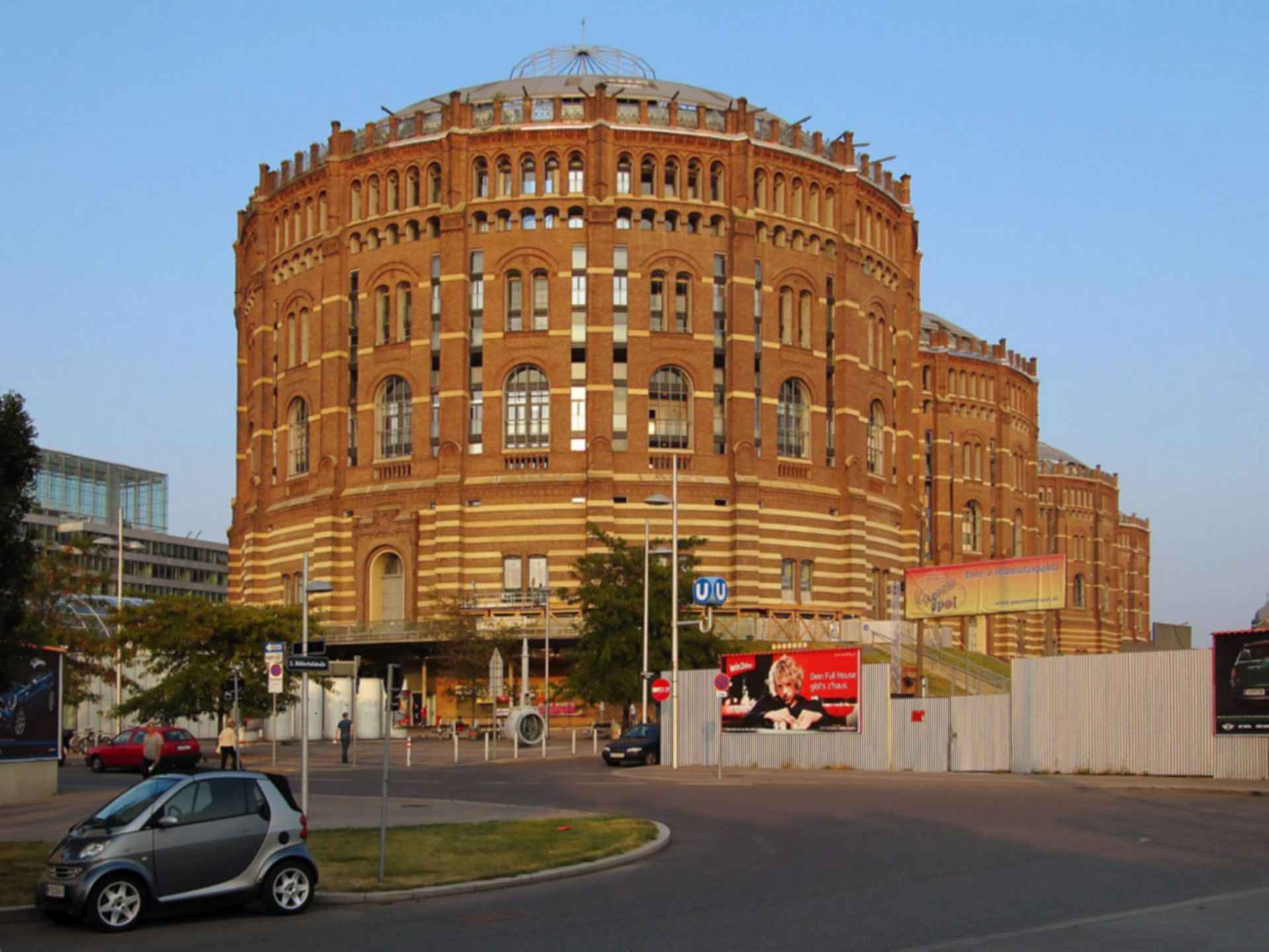 Gasometers of Vienna - Exterior