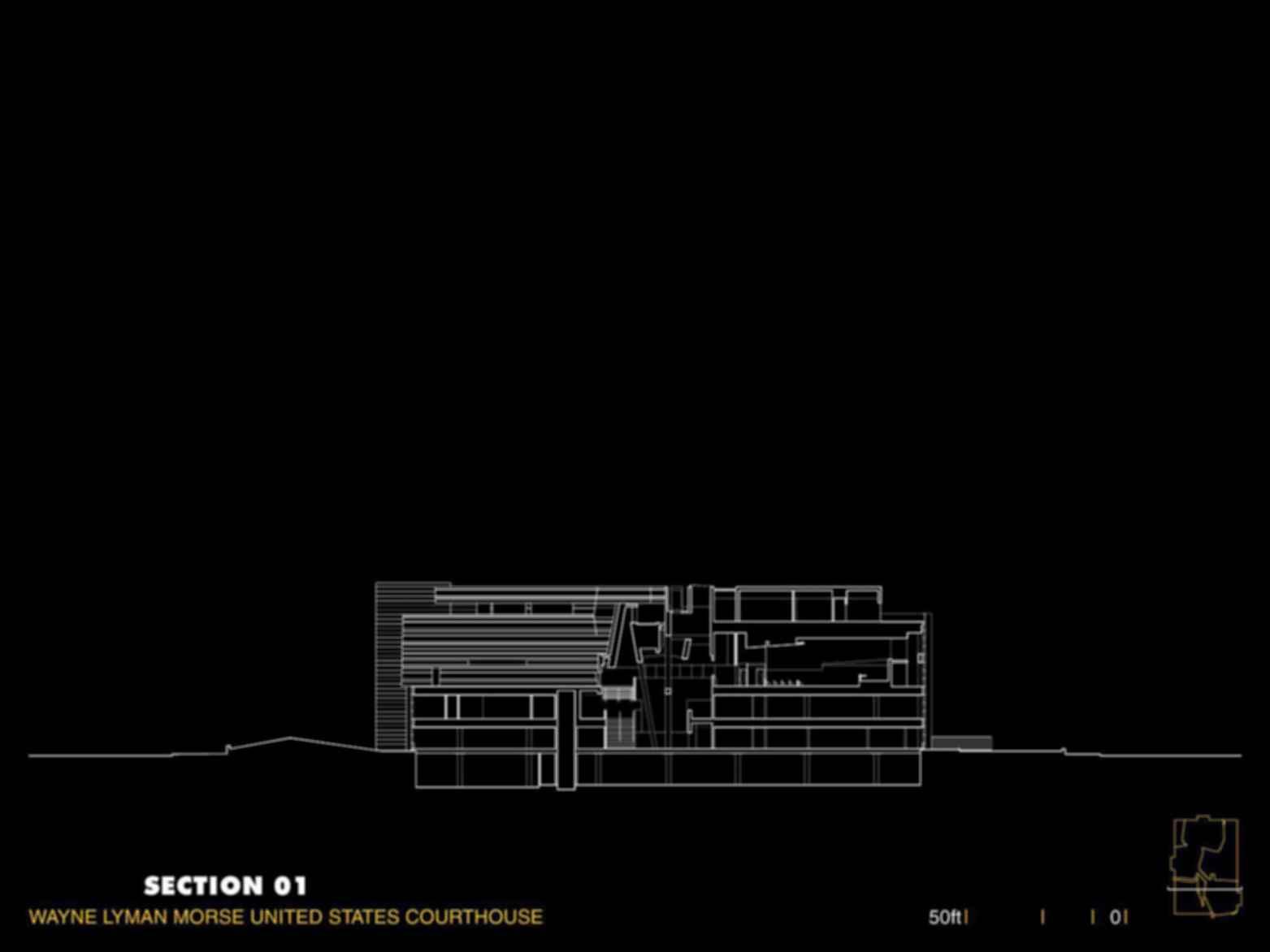 Wayne L. Morse United States Courthouse - Concept Design