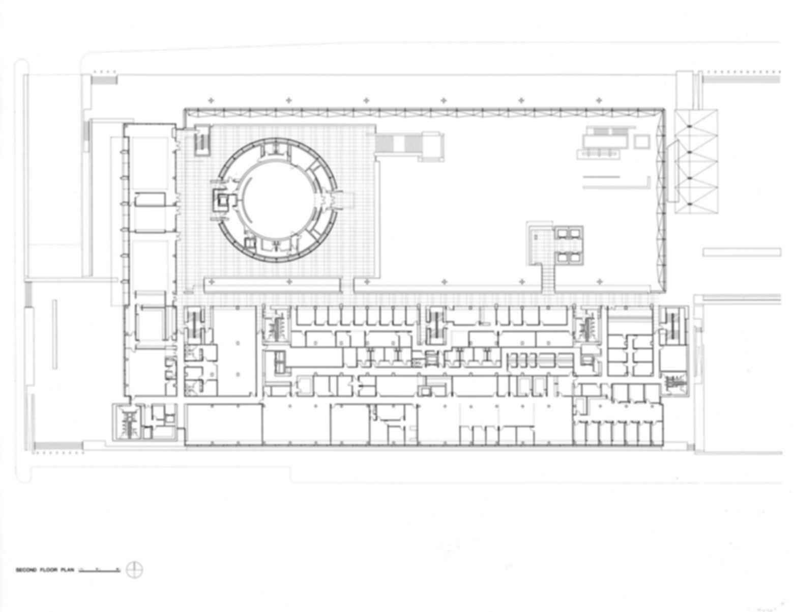 United States Courthouse, Phoenix, Arizona - Floor Plan
