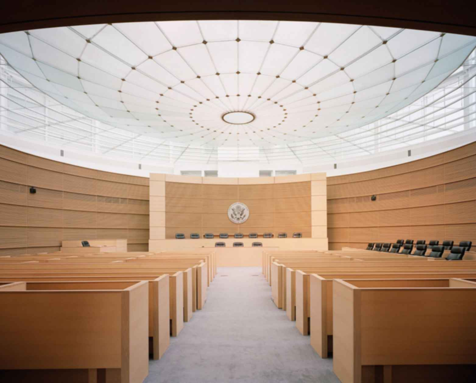 United States Courthouse, Phoenix, Arizona - Courtroom