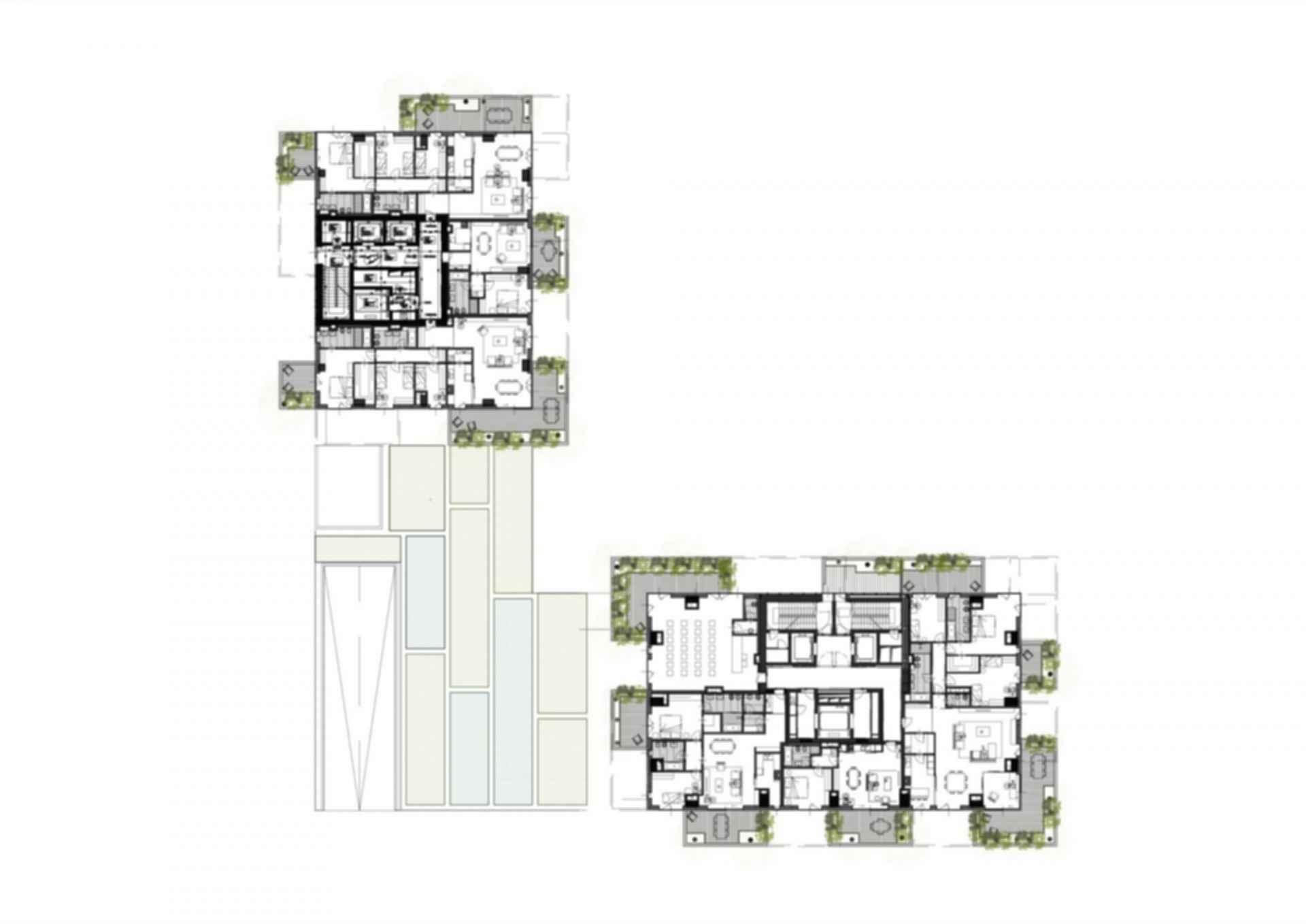 Bosco Verticale - Floor Plan
