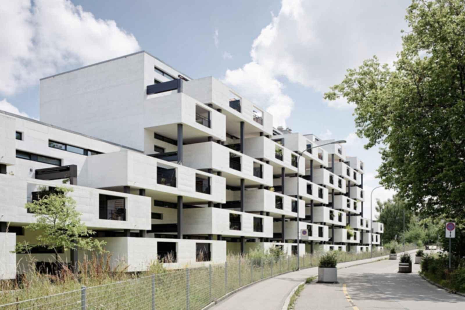 Paul Clairmont Strasse Housing - Exterior/Street View