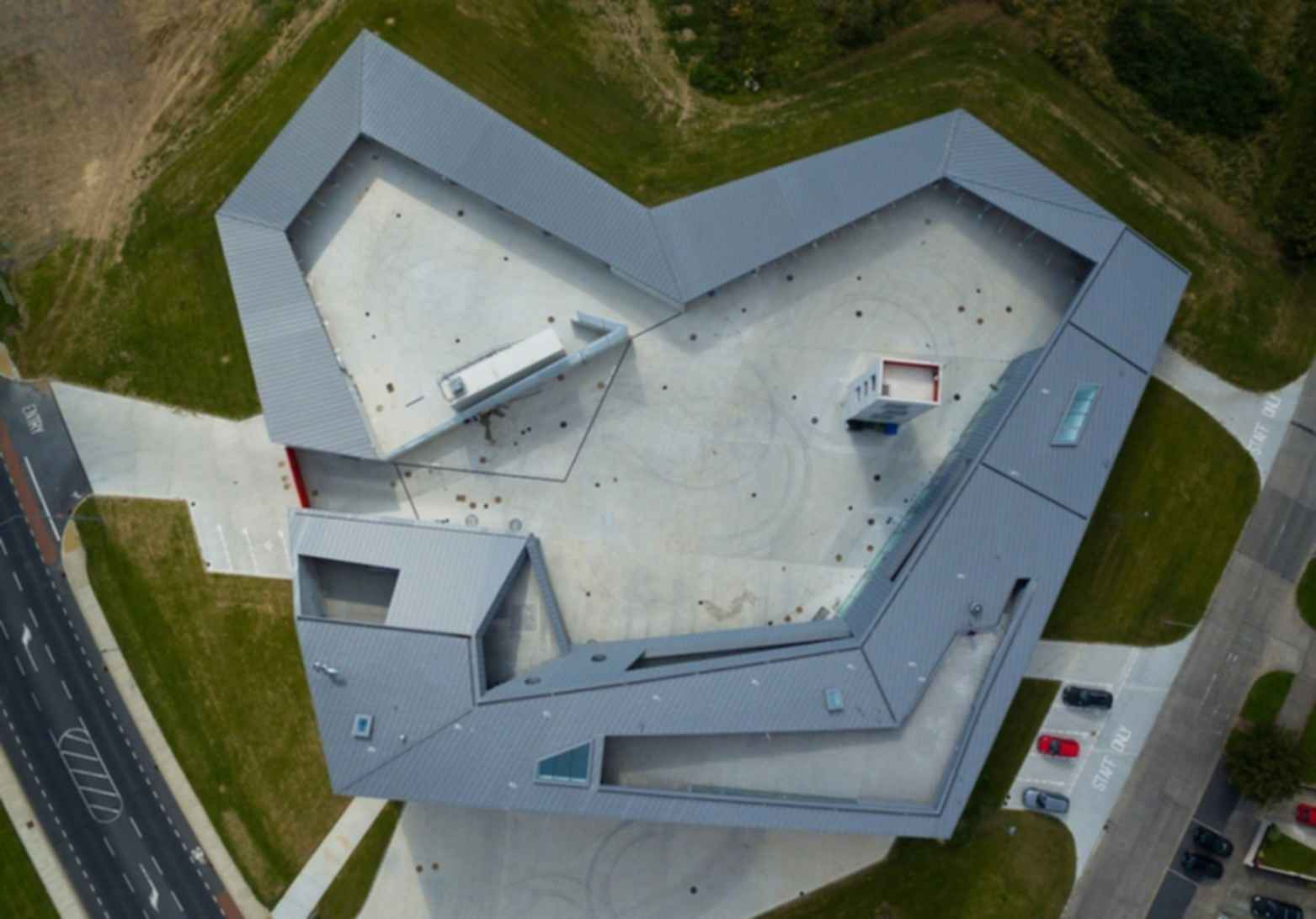 Waterford Fire Station - Birds Eye View