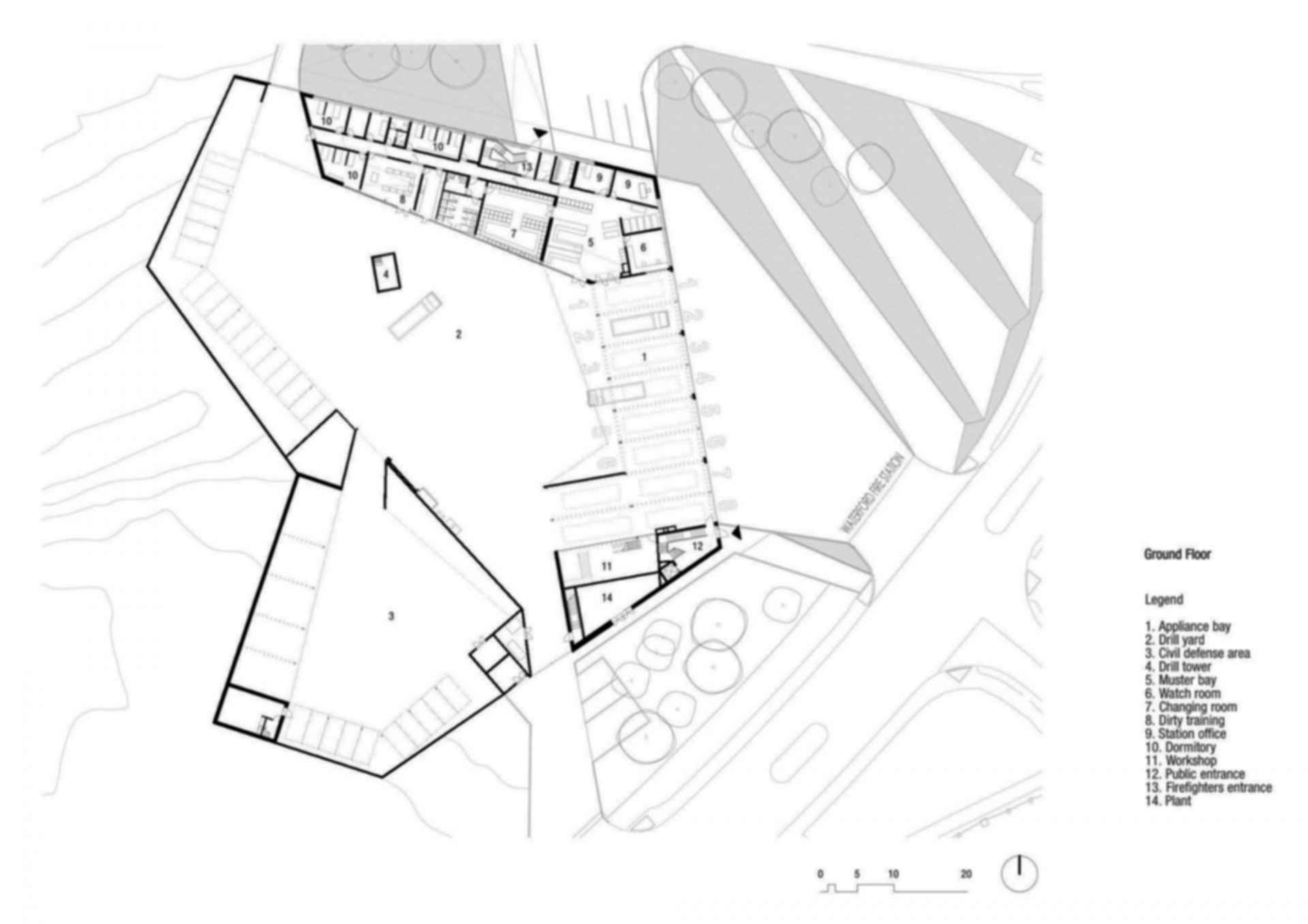 Waterford Fire Station - Floor Plan