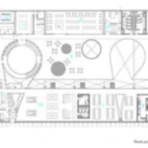 """Ave Fenix"" Fire Station - Floor Plan"