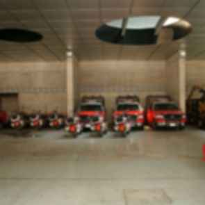 """Ave Fenix"" Fire Station - Interior/Vehicle Storage"