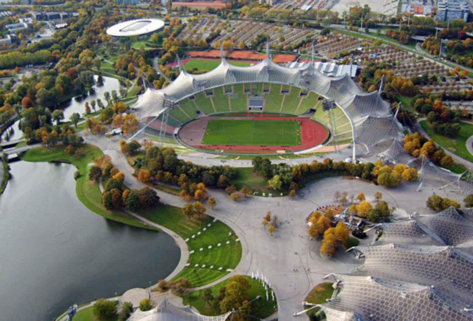 Munich Olympic Stadium - Exterior