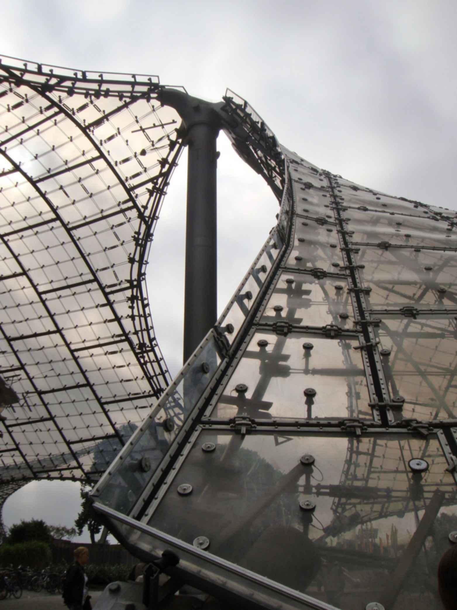 Munich Olympic Stadium - Roofing Details