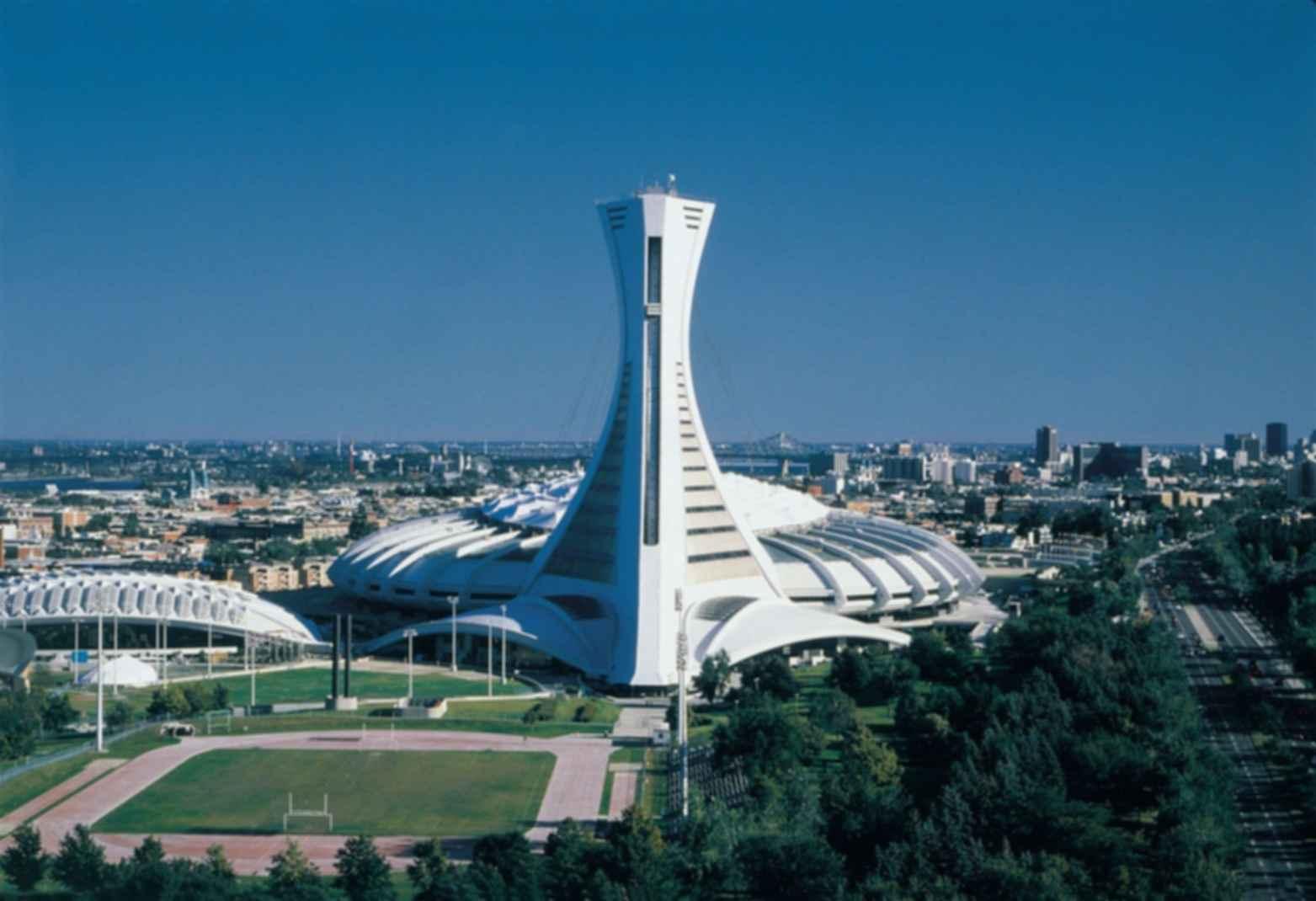 Olympic Stadium Montreal Exterior Landscape Modlar Com