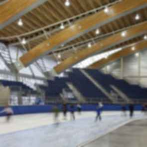Richmond Olympic Oval - Interior/Ice Rink