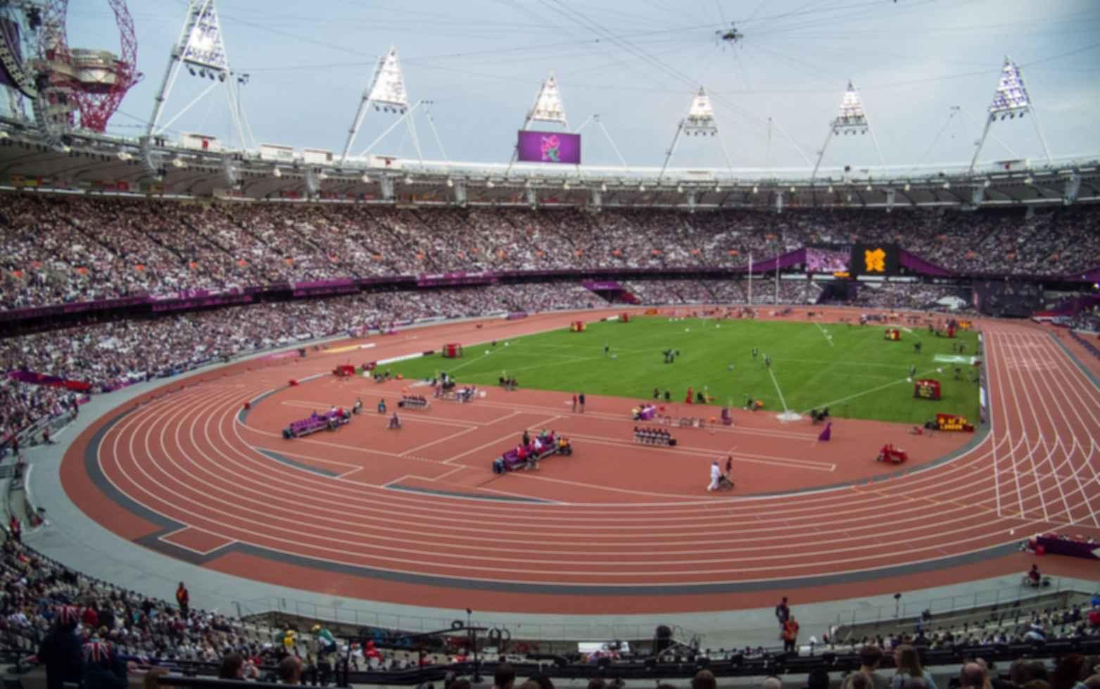 London Olympic Stadium - Inside the Stadium