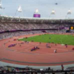 London Olympic Stadium - Inside the Stadium