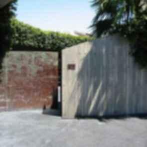 Elrod House - Entrance