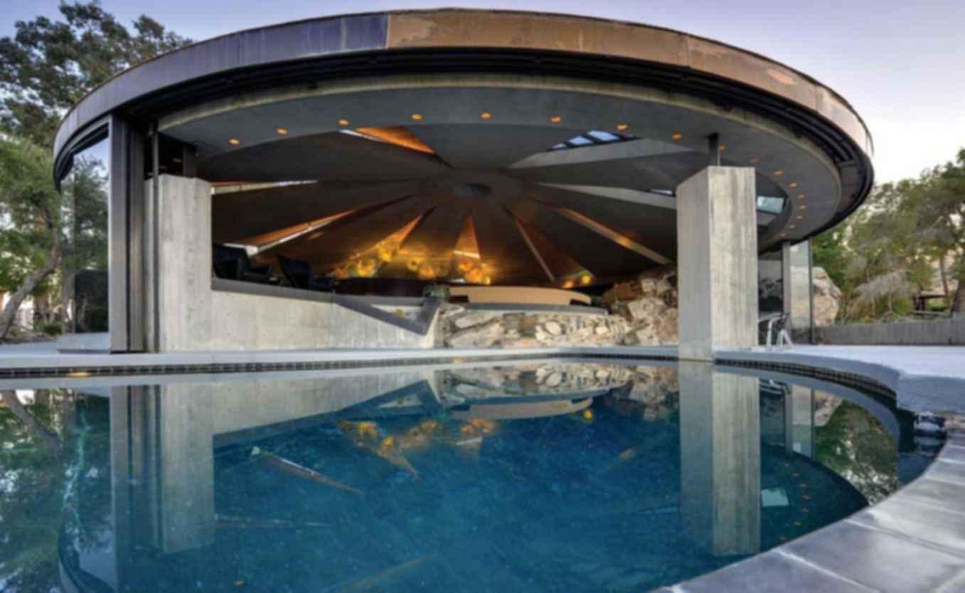 Elrod House - Pool Area