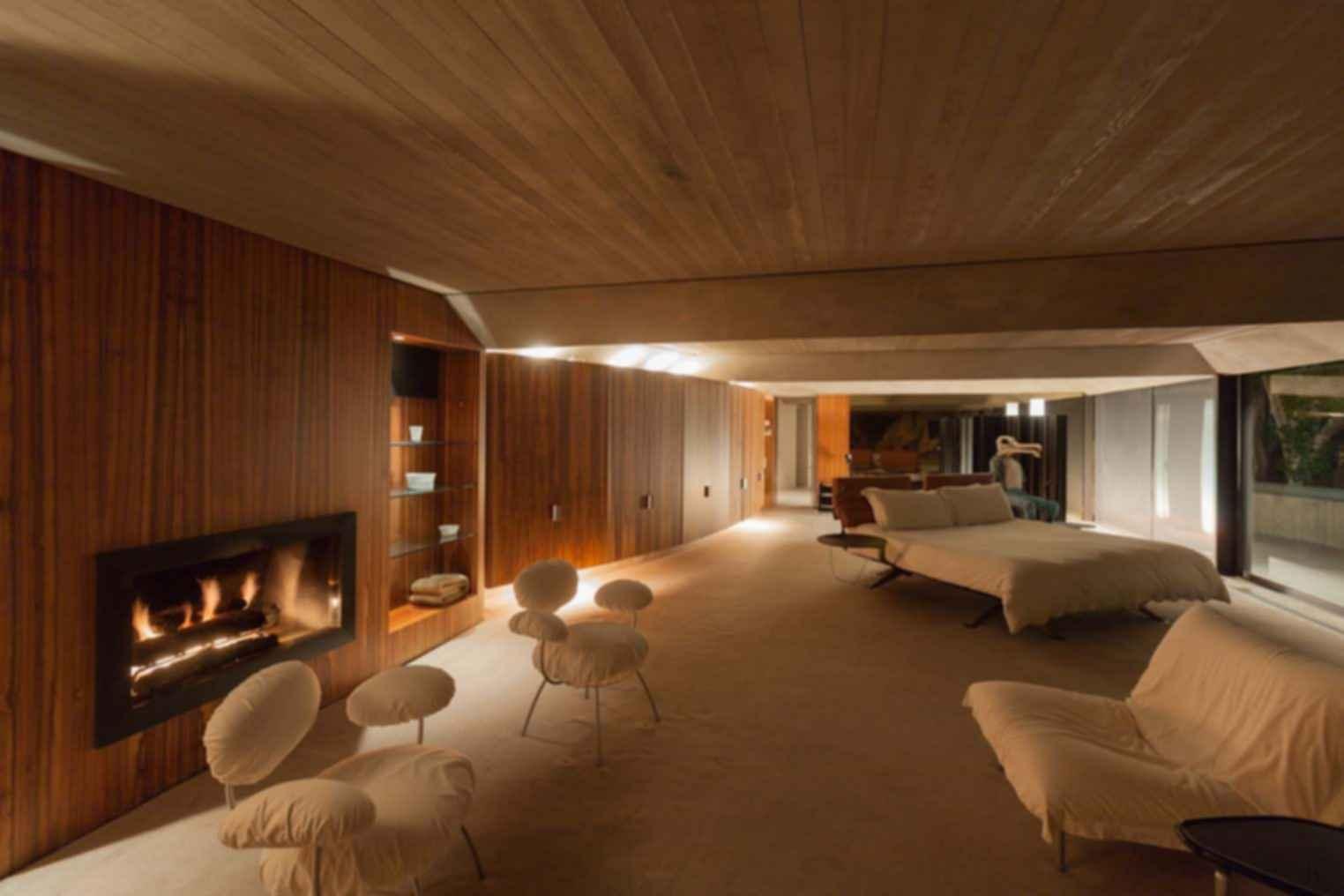 Elrod House - Bedroom