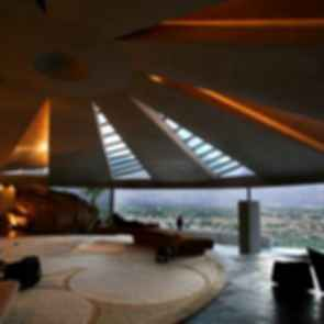 Elrod House - Interior/View of City