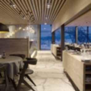 IceQ Restaurant - Interior