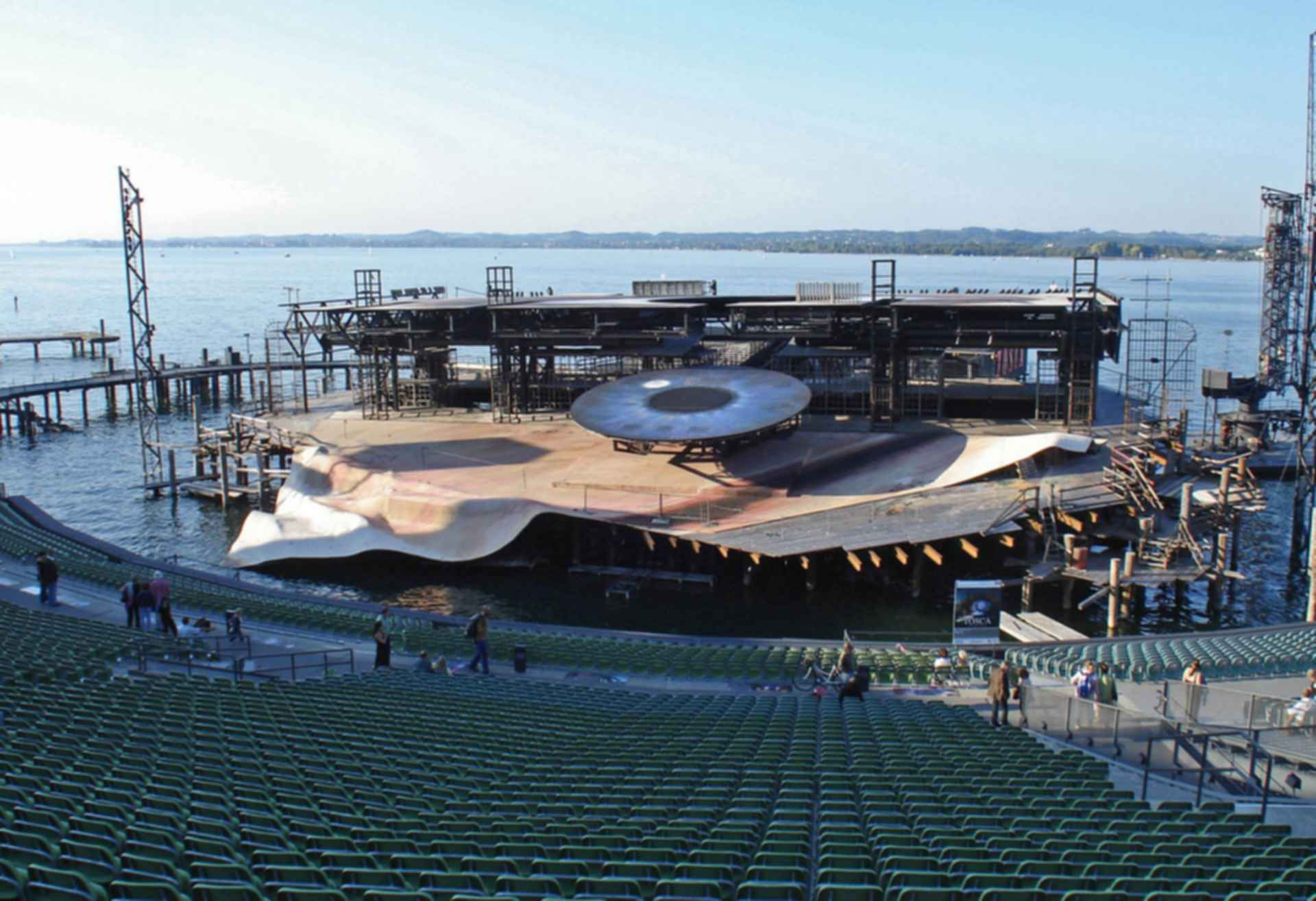 Seeb_hne at Festspielhaus Bregenz - Seating/Construction of Stage