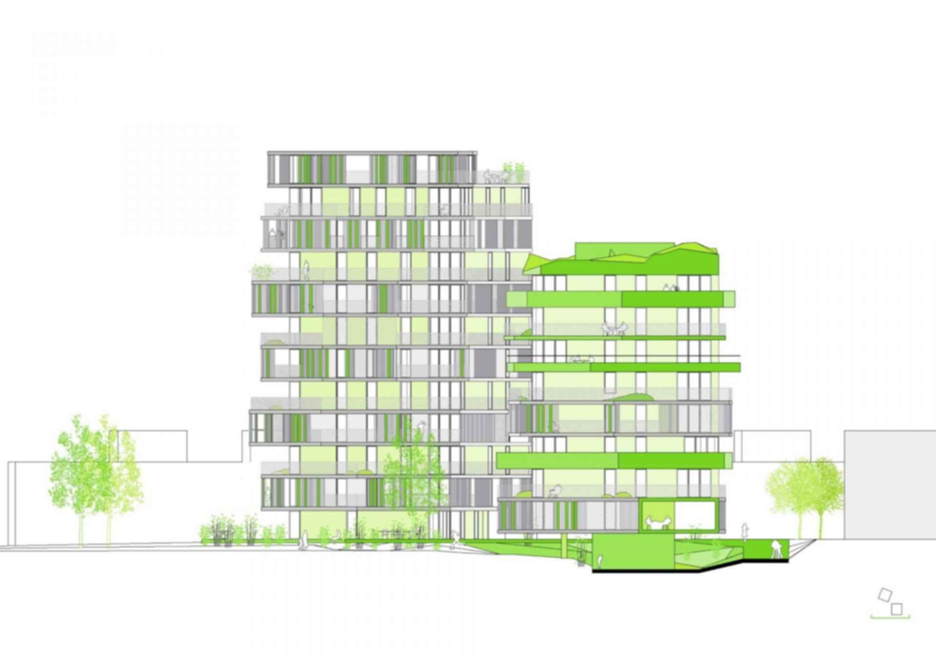 Villiot-Rapee Apartments - Concept Design