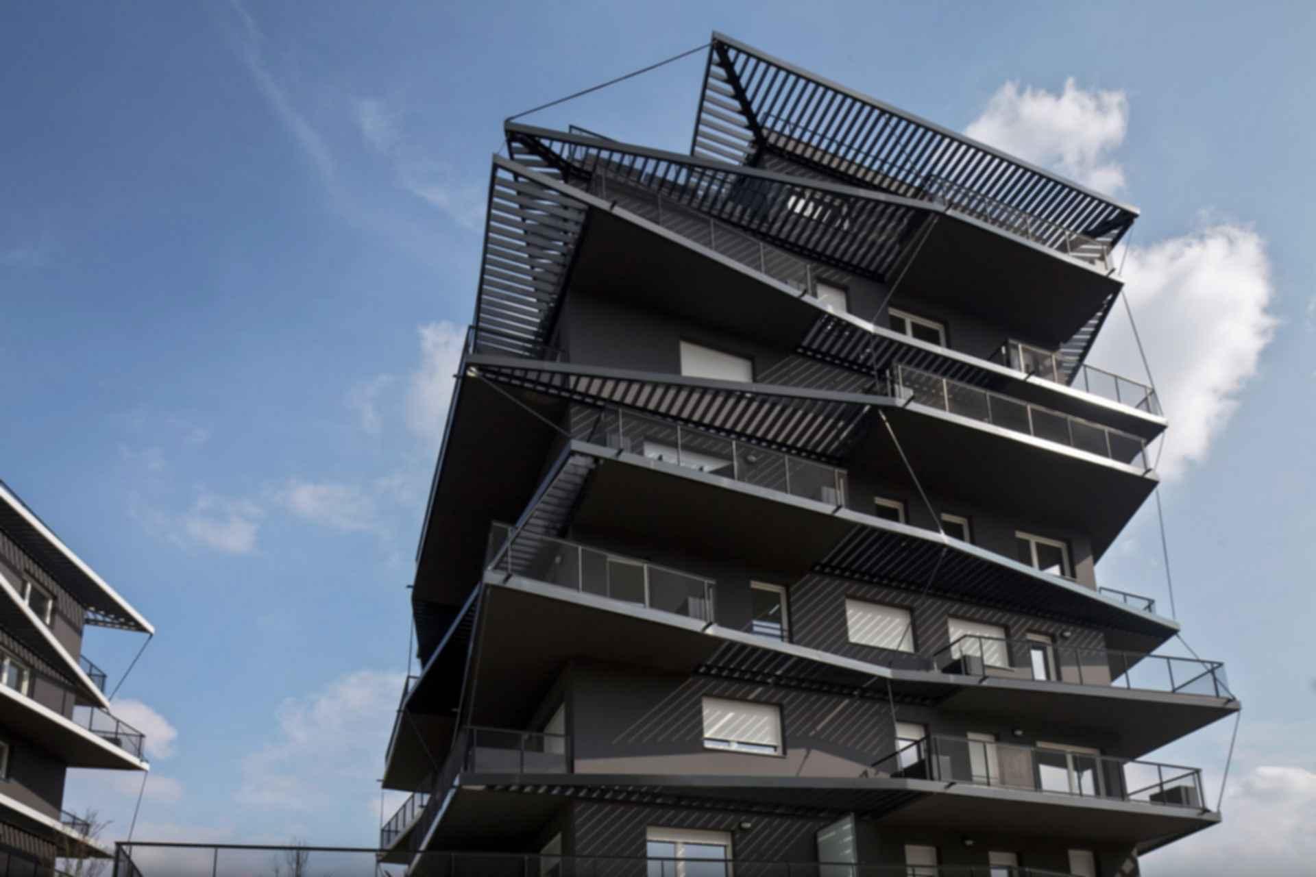 Ginko Eco-Neighbourhood Housing - Exterior