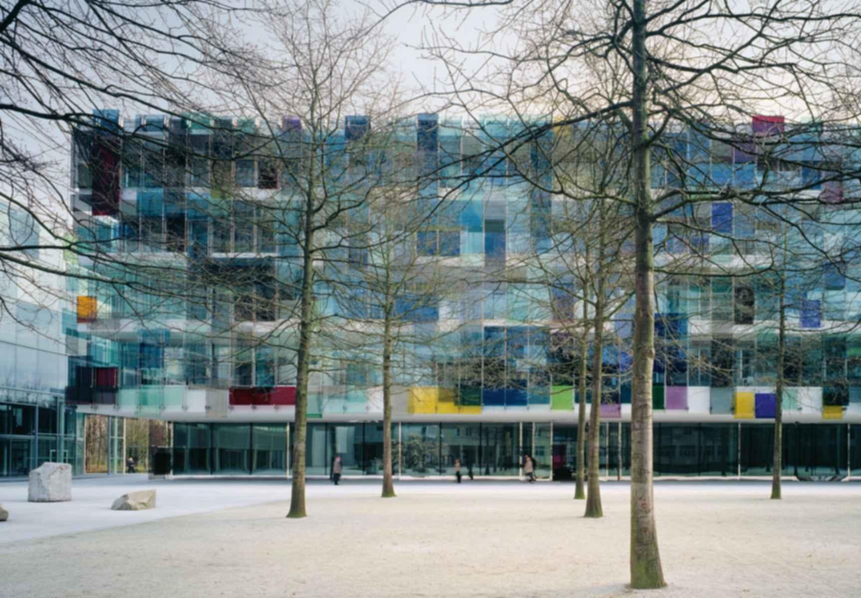 Novartis Campus Forum 3 - Exterior