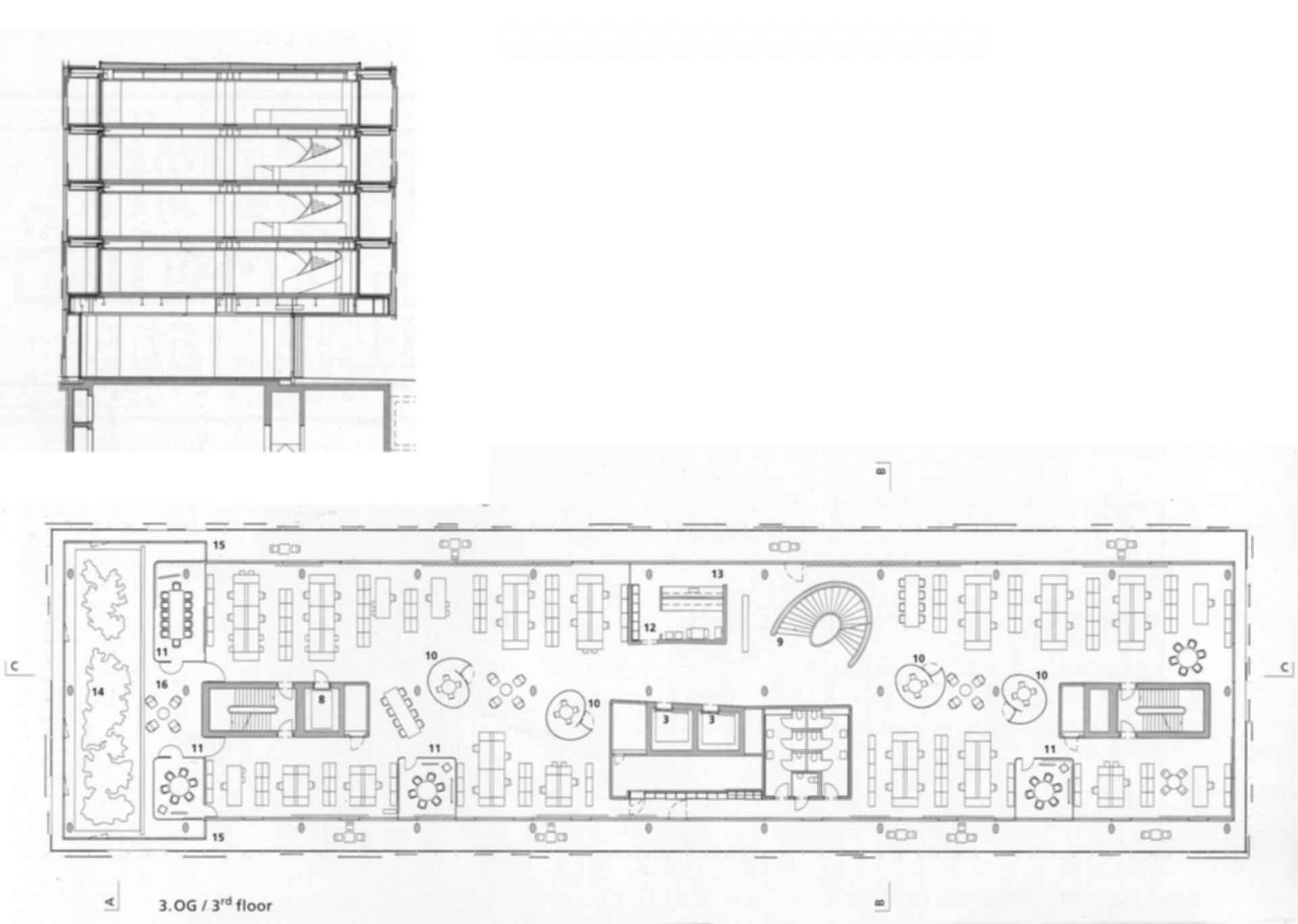 Novartis Campus Forum 3 - Floor Plan
