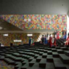 The Korean Pavilion at Shanghai World Expo 2010 - Interior/Stairs
