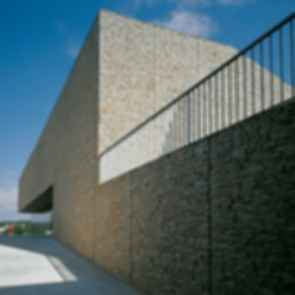 Sports Hall Bale - Exterior Wall