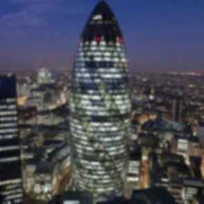 Gherkin Tower - Exterior at Night/Landscape