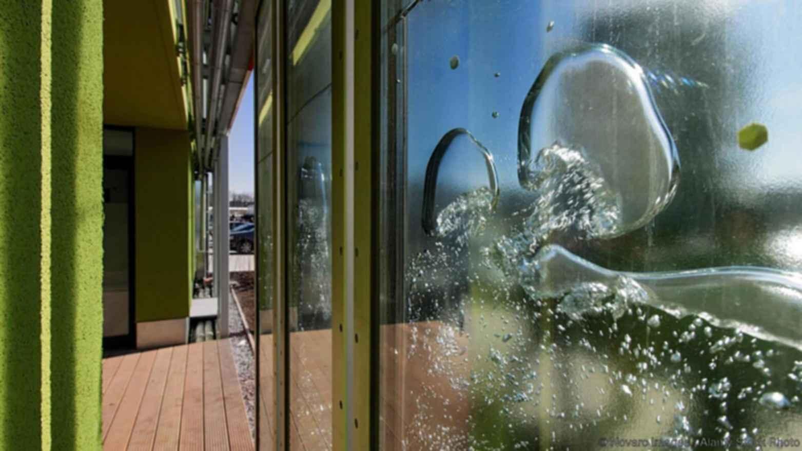 BIQ Building - Exterior/Water