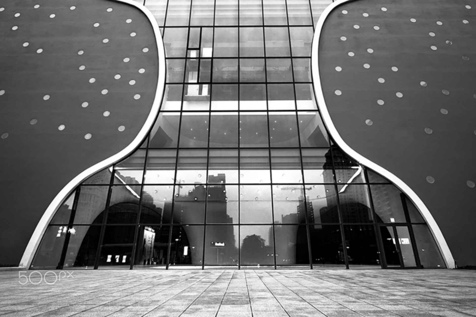 Taichung Metropolitan Opera House - Exterior