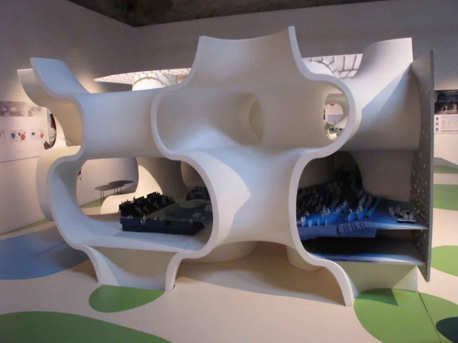 Taichung Metropolitan Opera House - 3D Model