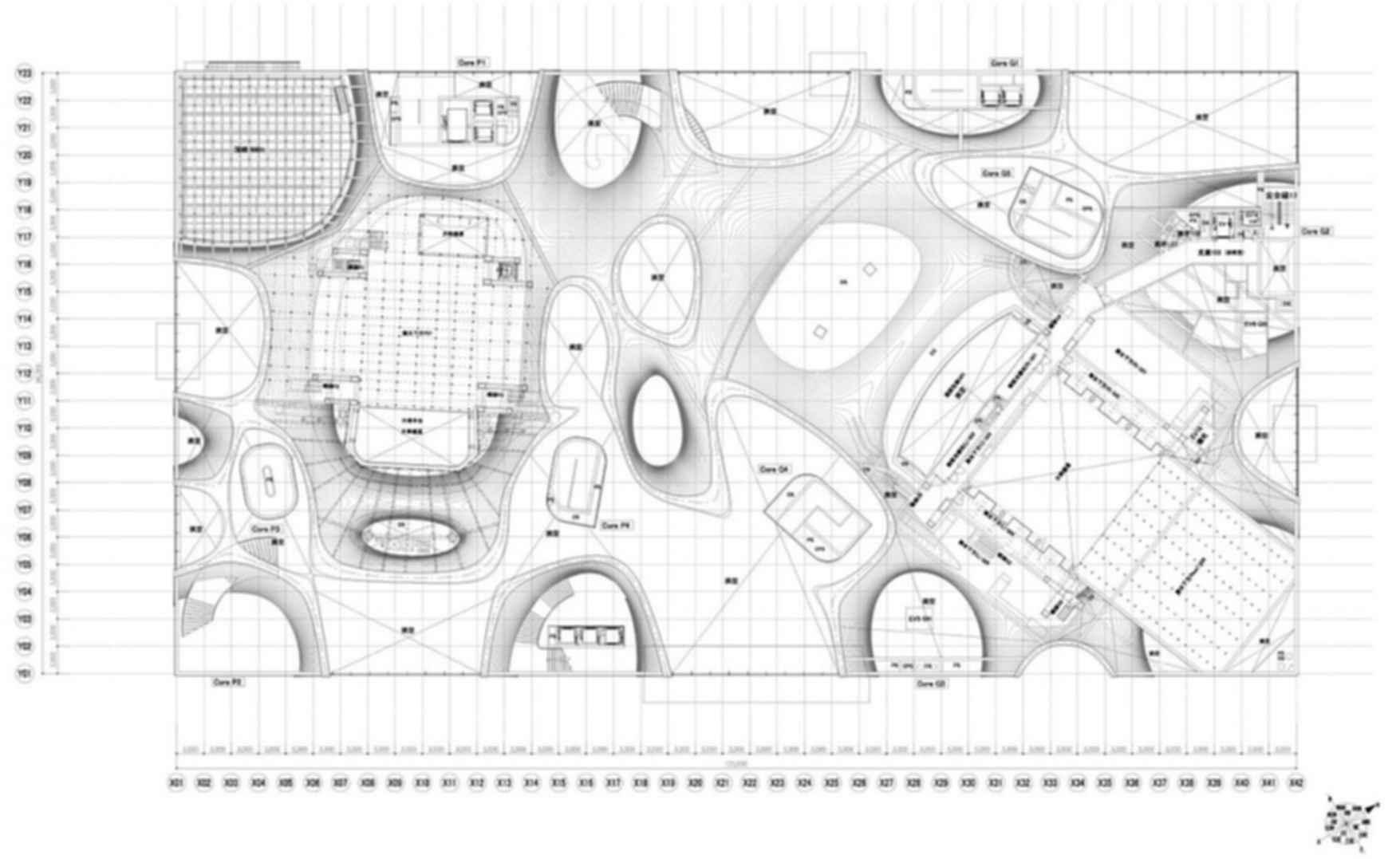 Taichung Metropolitan Opera House - Site Plan