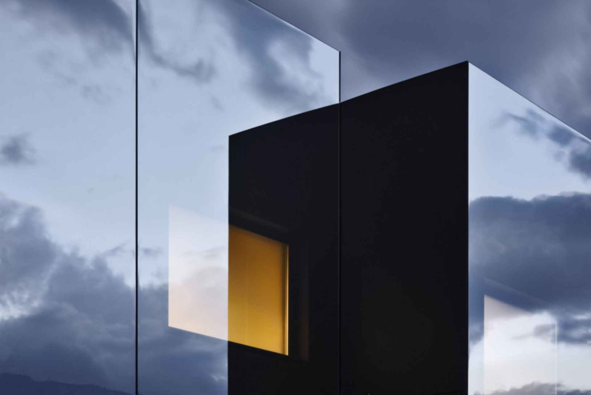 The Mirror House - Exterior/Mirror Detail