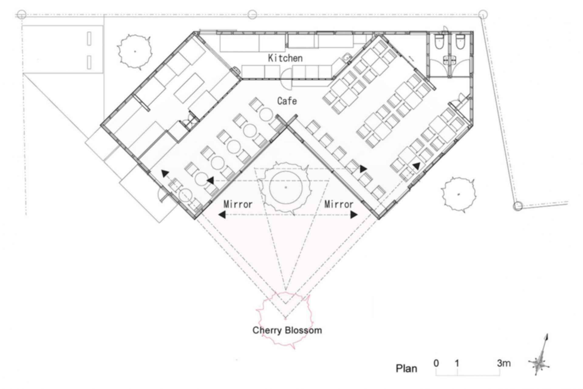 Mirror Cafe - Floor Plan