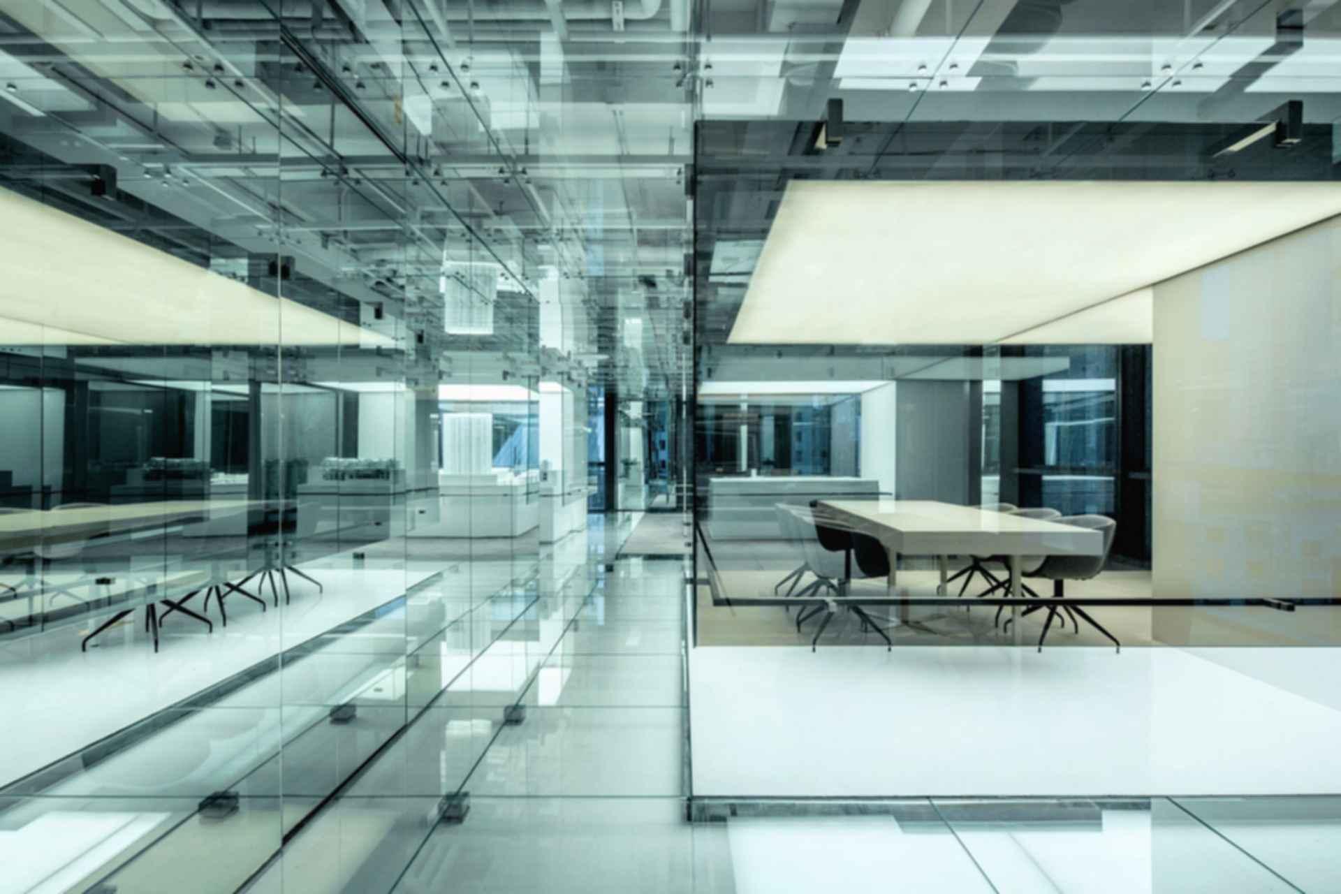 Glass Office - Interior