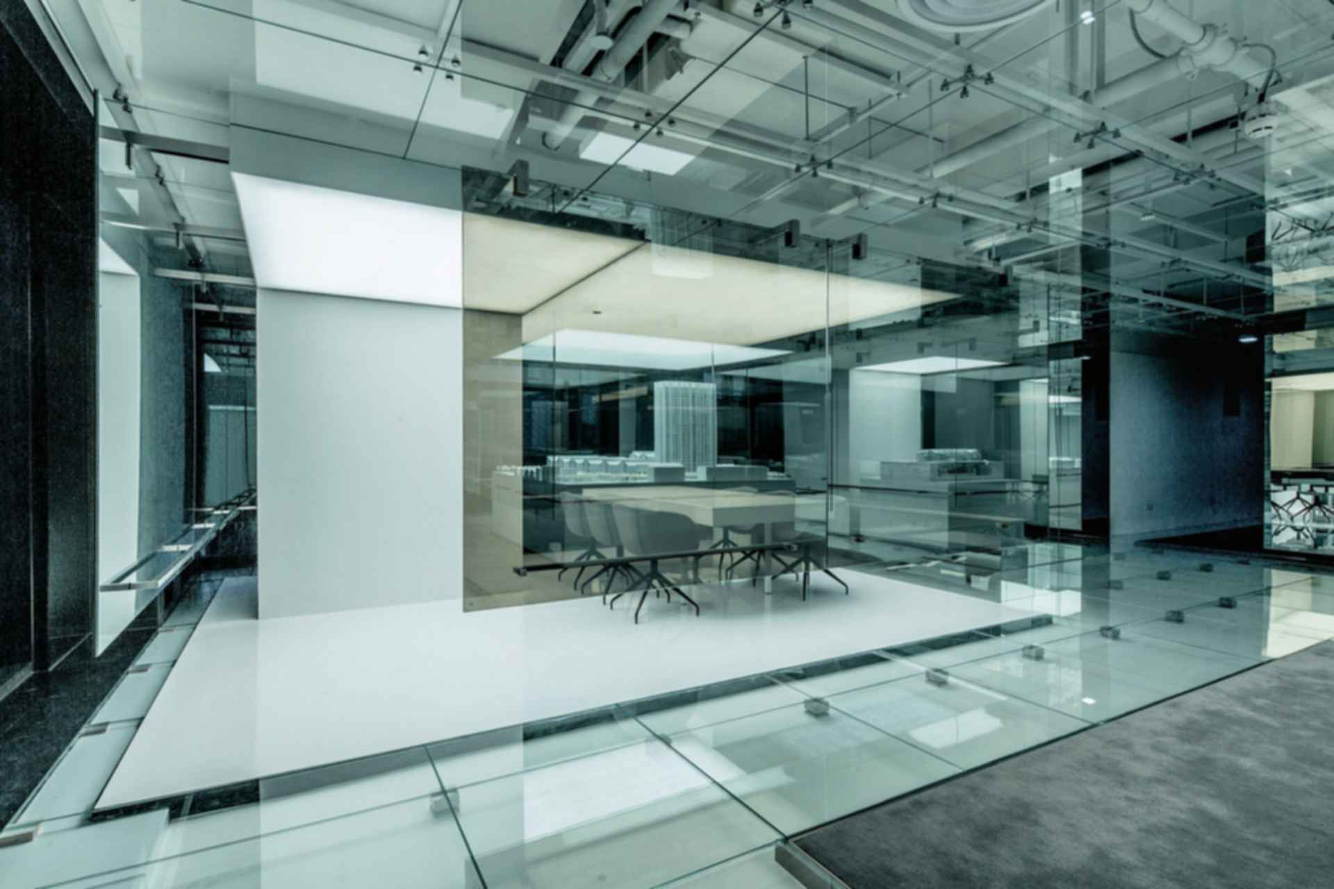 Glass Office - Interior