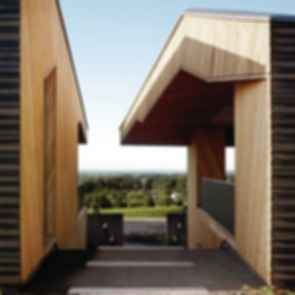 Tasting Room at Sokol Blosser Winery - Exterior/Walkway