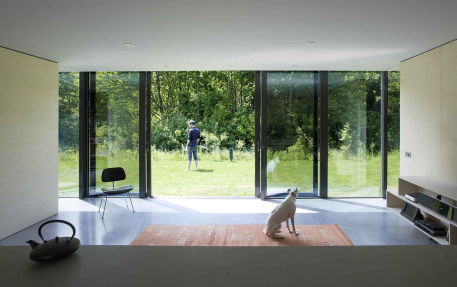 Mirror House, Almere - Interior/Looking Outside